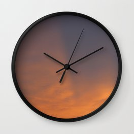 Immersed in Light Wall Clock