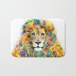 Garden of the Wild ~ LION Bath Mat