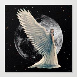 The Moon Angel Canvas Print