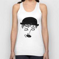charlie chaplin Tank Tops featuring Chaplin  by Sardine