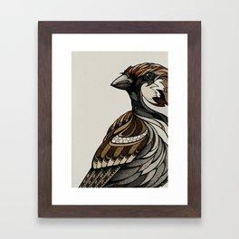 Berlin Sparrow Framed Art Print