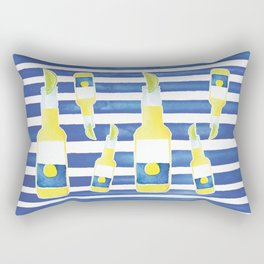 Summertime Cerveza Rectangular Pillow