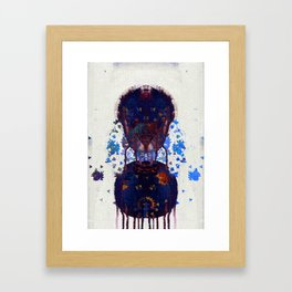 your footsteps are pavlovs bell Framed Art Print