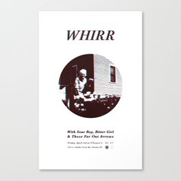 Whirr @ O'Leaver's Pub Canvas Print