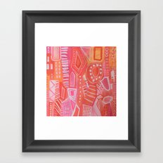 What Happy Feels Like Framed Art Print