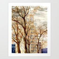 Lamar Life - Downtown Jackson, MS Art Print