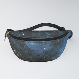 A runaway star called CW Leo plowing through the depths of space and piling up interstellar material Fanny Pack