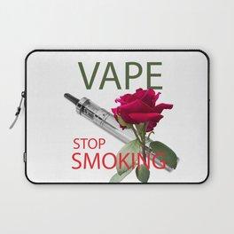 Be vaper, stop smoking Laptop Sleeve