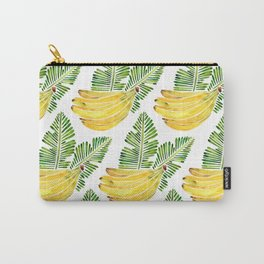 Banana Bunch – Green Leaves Carry-All Pouch