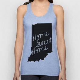 Indiana Home Sweet Home Unisex Tank Top