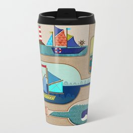 Ahoy There Metal Travel Mug