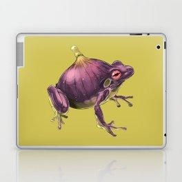 Ff - Frig // Half Frog, Half Fig Laptop & iPad Skin