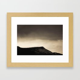 Engineer Mtn Framed Art Print