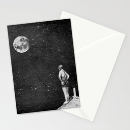 Spacewoman & The Pier Into Space Stationery Cards