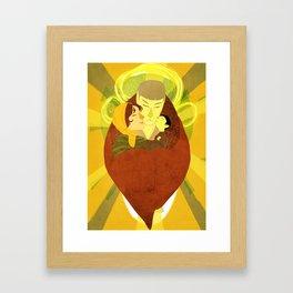 House of Sarek Framed Art Print
