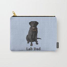 Lab Dad Black Labrador Retriever Carry-All Pouch