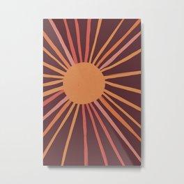 Sunrise Memory 62 Metal Print