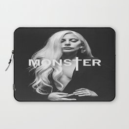 Lady Gaga's Portrait Monster Laptop Sleeve