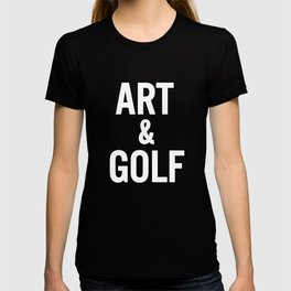 Art & Golf T-shirt