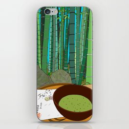 Bamboo Temple in Japan iPhone Skin