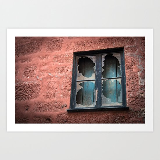 window of solitude  Art Print