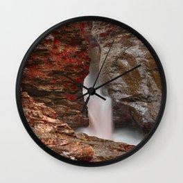Blood Lust Falls Wall Clock