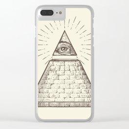 iLLuminati Clear iPhone Case