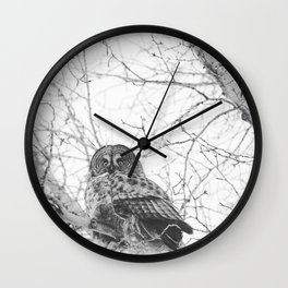 The Watcher Wall Clock