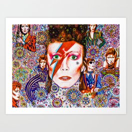 Music of the soul 7 Art Print