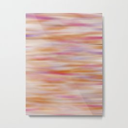 Purple, Pink, Orange Abstract Metal Print