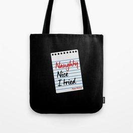 Naughty Nice - Gift Tote Bag