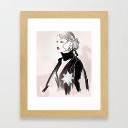 BEAUTIFUL & GENTLE Framed Art Print