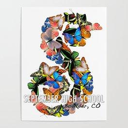 September School Butterflies Poster