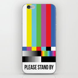 Color Bars iPhone Skin