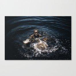 Bath, Mozambique Canvas Print