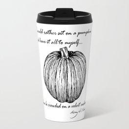 Thoreau's Pumpkin Travel Mug