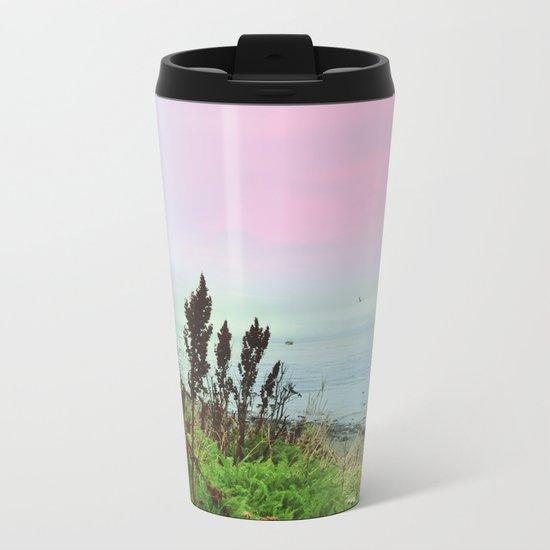 Pastel vibes 64 Metal Travel Mug