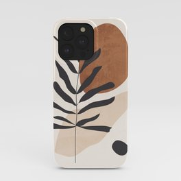 Abstract Art /Minimal Plant 12 iPhone Case