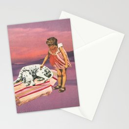 Napping Puppy Stationery Cards