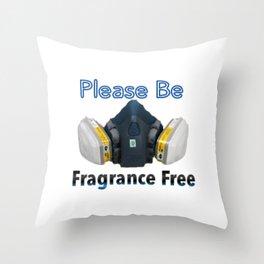 Fragrance Free Throw Pillow