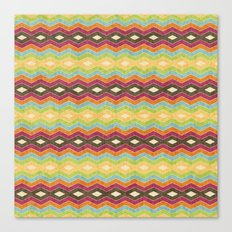 Chevron norvehC Canvas Print