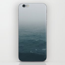 Lost somewhere in the North Sea iPhone Skin