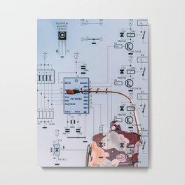 Synergy Scheme Metal Print