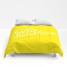 Hello Sunshine Script Comforters