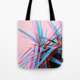 Duotone Palms Tote Bag