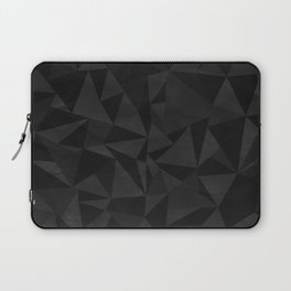Dirty Dark Geo Laptop Sleeve