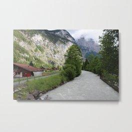Switzerland Lauterbrunnen Metal Print