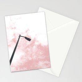 Blush Sky Clouds Stationery Cards