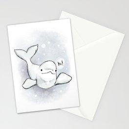 Beluga Greeting Stationery Cards