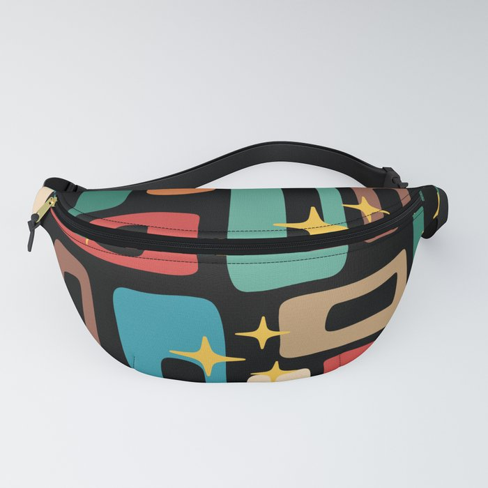 Retro Mid Century Modern Abstract Pattern 223 Fanny Pack